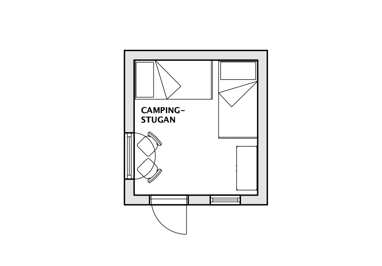 Campingstugan